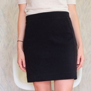 Madewell Textured Panel Mini Skirt